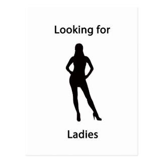 looking for ladies postcard