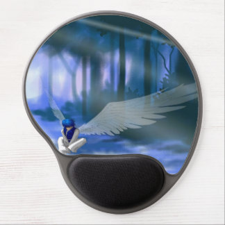 """Looking for Light"" Angel Ergonomic Mousepad Gel Mouse Pad"
