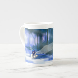 """""""Looking for Light"""" Angel Tea Cup"""