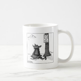 Looking For Lost Man Coffee Mug