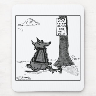 Looking For Lost Man Mouse Pad