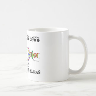 Looking For Love In All The Right Alleles (DNA) Classic White Coffee Mug