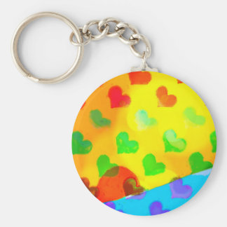 Looking for love keychain