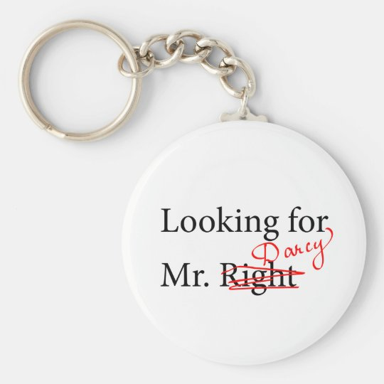Looking for Mr Darcy Keychain