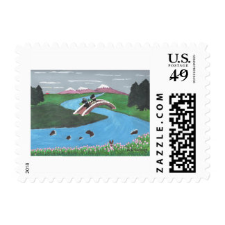 Looking For Nessie Postage Stamps