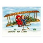 Looking For Santa Postcard