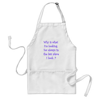 Looking For T-shirt-Dark Lettering Aprons
