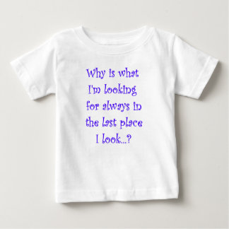 Looking For T-shirt-Dark Lettering Baby T-Shirt