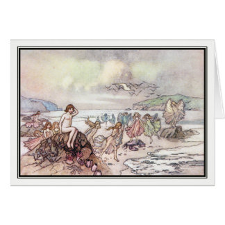 Looking for Water Babies by Warwick Goble Card