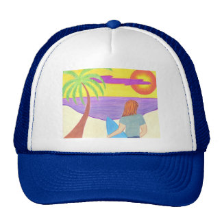 Looking for Waves Trucker Hat