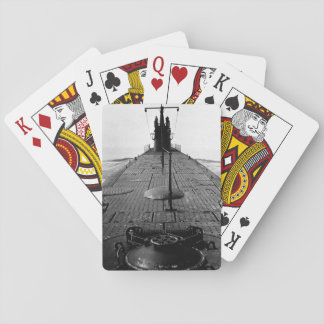 Looking forward along deck from_War Image Playing Cards