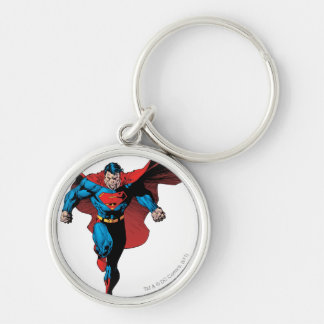 Looking Forward - Comic Style Keychain