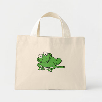 Looking Frog Canvas Bag