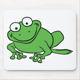 Looking Frog Mouse Pad