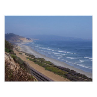 Looking from the Path (Del Mar) Print