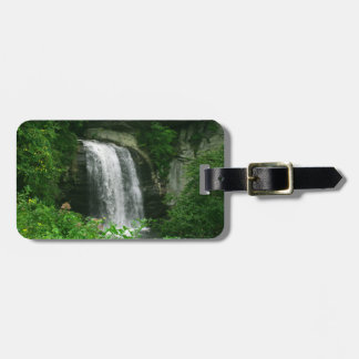 Looking Glass Falls Travel Bag Tag