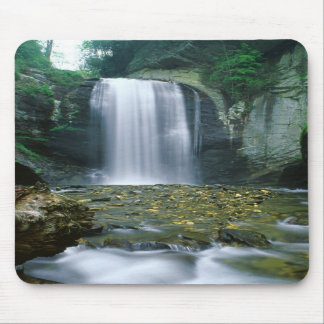 Looking Glass Falls Mouse Pads