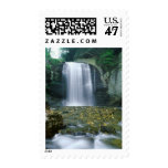 Looking Glass Falls Stamp