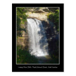 Looking Glass Falls Waterfall North Carolina Postcard