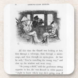 Looking-Glass Insects, illustration from 'Alice Th Beverage Coaster