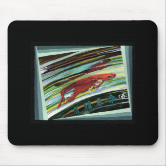 Looking Into A Fishbowl Mouse Pad