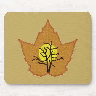 Looking into Leaf Mouse Pad