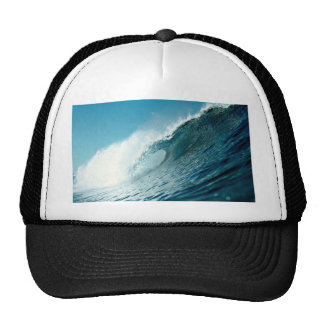 Looking into the eye of a breaking wave hat