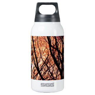Looking Into The Forest Light Thermos Water Bottle