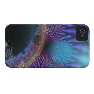 Looking Inward - Amethyst & Azure Mystery iPhone 4 Covers