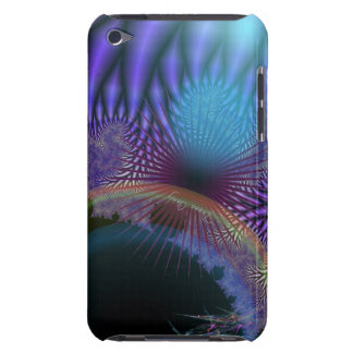 Looking Inward - Amethyst & Azure Mystery iPod Touch Cover