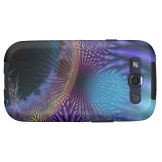 Looking Inward - Amethyst & Azure Mystery Galaxy SIII Case