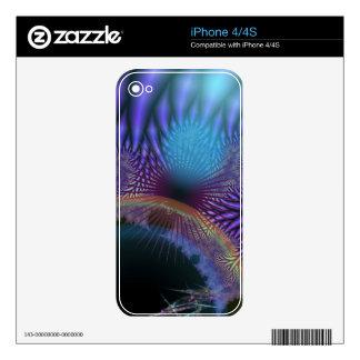 Looking Inward - Amethyst & Azure Mystery iPhone 4 Skin