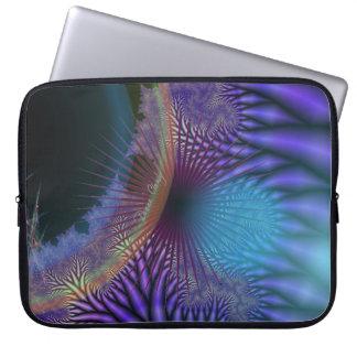 Looking Inward - Amethyst & Azure Mystery Computer Sleeves