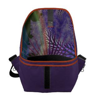 Looking Inward - Amethyst & Azure Mystery Courier Bag