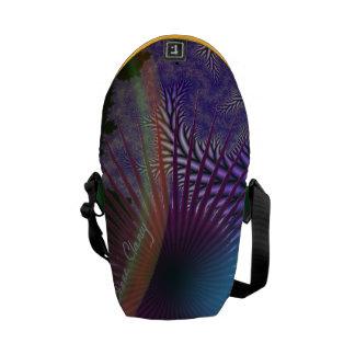 Looking Inward - Amethyst & Azure Mystery Mini Messenger Bag