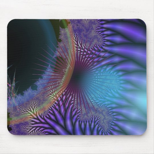 Looking Inward - Amethyst & Azure Mystery Mouse Pad