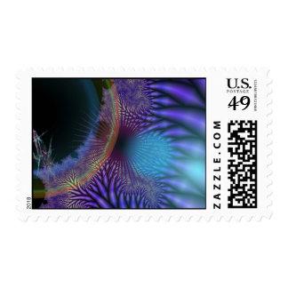 Looking Inward - Amethyst & Azure Mystery Postage Stamp