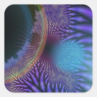 Looking Inward - Amethyst & Azure Mystery Stickers