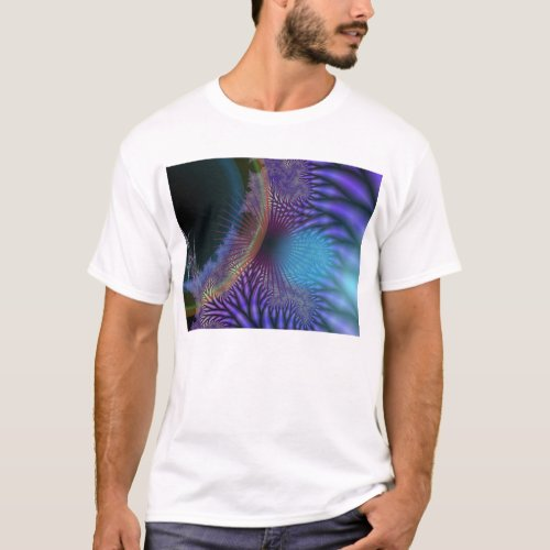 Looking Inward - Amethyst & Azure Mystery T-Shirt