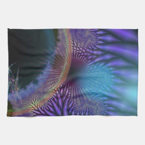 Looking Inward - Amethyst & Azure Mystery Towel
