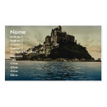 Looking northeast at high water, Mont St. Michel, Business Card Template