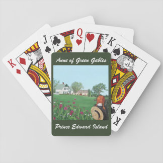 """Looking on with Love"" Anne of Green Gables Playing Cards"
