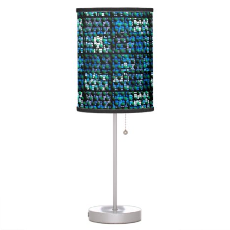 Looking out at Night, Abstract Venture Adventure Desk Lamp