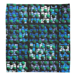 Looking out at Night, Abstract Venture Adventure Kerchief