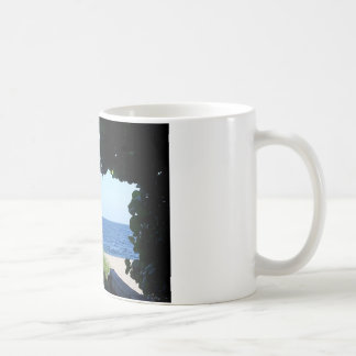 Looking Out at the Beach Coffee Mug