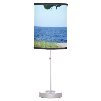 Looking Out at the Beach Lamp
