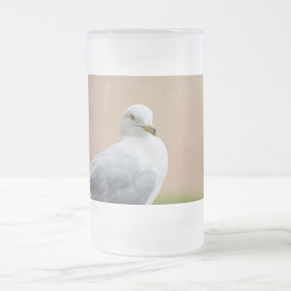 Looking Out Frosted Glass Beer Mug