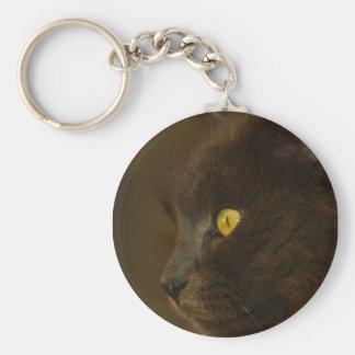 Looking Out Key Chain