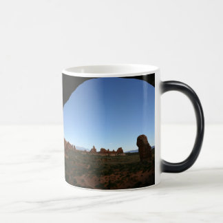 Looking Out Magic Mug