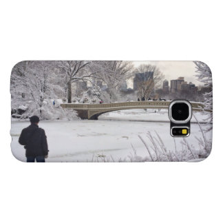 Looking Out Over A Frozen Pond Samsung Galaxy S6 Case
